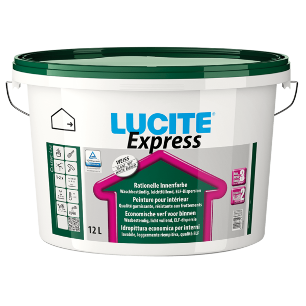 LUCITE® Express Wandfarbe